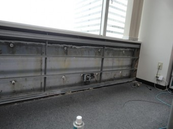 壁ボード撤去