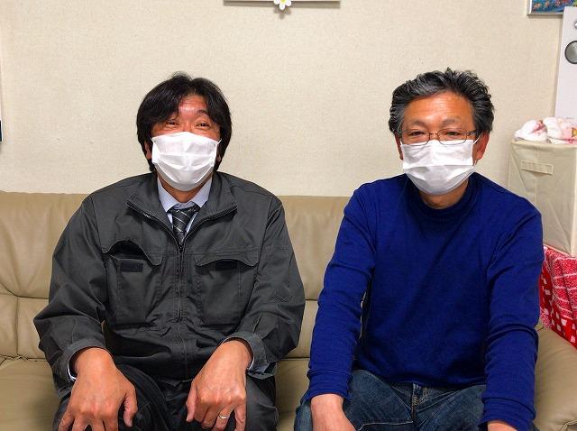 雨漏り被害に遭われた内装の修繕と屋根の部分葺替工事をご依頼いただいた北広島市在住のお客様の声