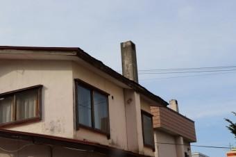 三角屋根煙突横