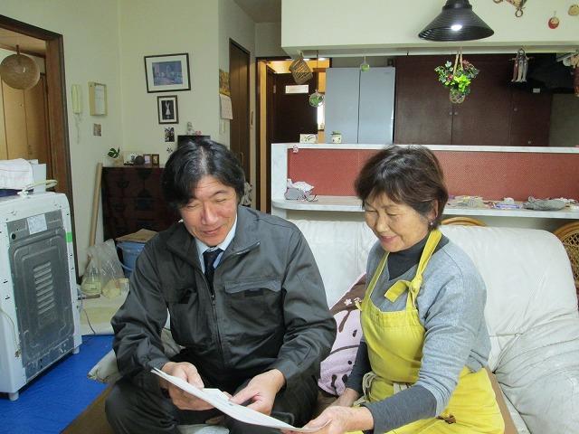 札幌市豊平区で雨漏りで家屋の修繕工事したお客様の声