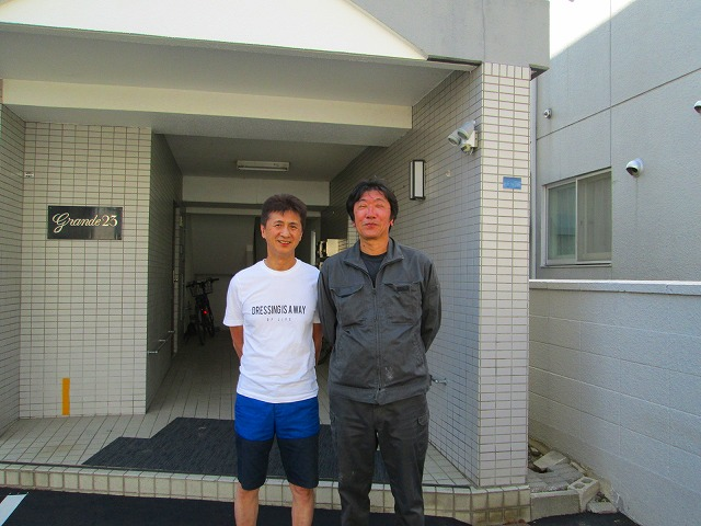 屋上及びルーフバルコニーの防水補修工事をご依頼された札幌市南区の賃貸マンションオーナー S様のお客様のお声