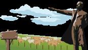豊平区名所、さっぽろ羊ケ丘展望台、クラーク博士像、